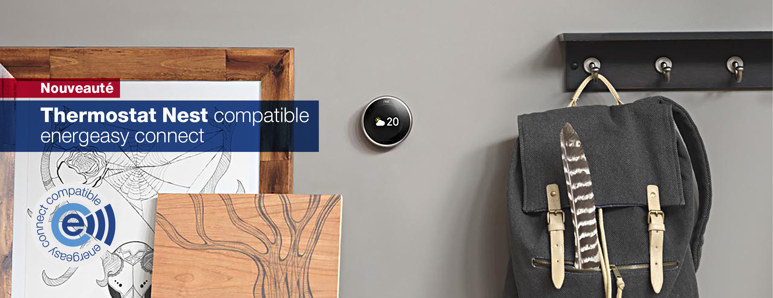 Thermostat Nest compatible